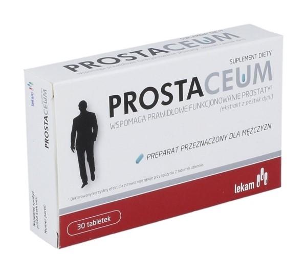 Brałem Prostaceum - opinie to nie wszystko, odradzam!