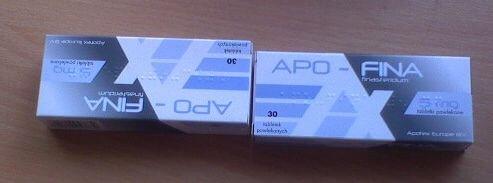 Tabletki na prostatę Apo-Fina