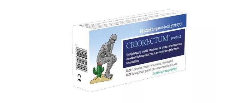Czy czopki Criorectum działają?