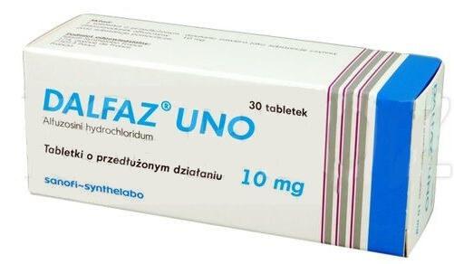 Tabletki na prostatę Dalfaz Uno - efekty i opinia
