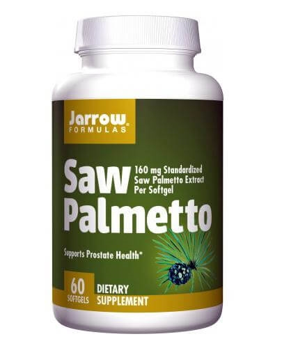 Kapsułki na prostatę JARROW - opinie o suplemencie Saw Palmetto