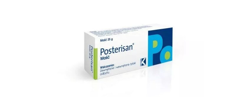 Jak działa maść Posterisan i dlaczego nie pomoże?