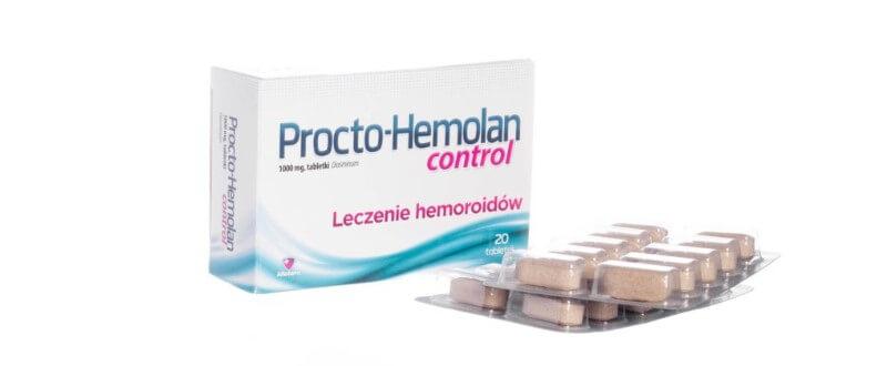 Procto Hemolan Control - czy one działają?