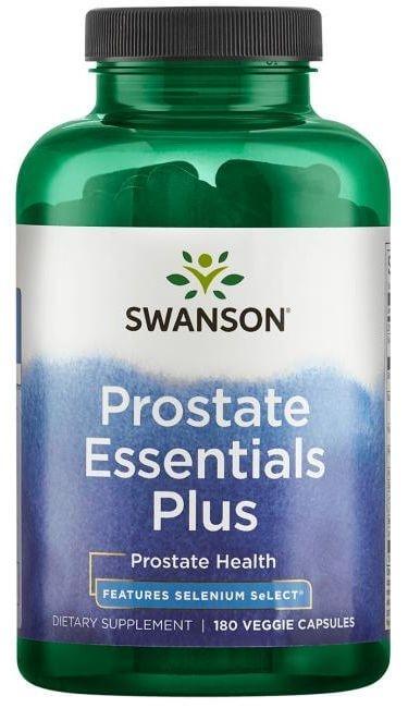 Kapsułki na prostatę Swanson Prostate Essentials - opinia o nieskutecznej kuracji
