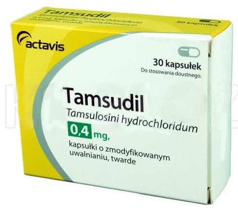Kapsułki na prostatę Tamsudil nie działają